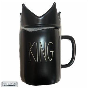 FATHERS DAY GIFT Rae Dunn KING Mug in Black